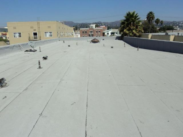 Apartment Building Roof apartment building flat roof inspection in los angeles | tru-quest